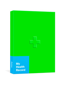 My Health Record (A Journal for Tracking Doctor's Visits, Medications, Test Results, Procedures, and Family History) by Potter Gift, 9780593231869