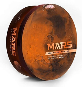 Mars: 100 Piece Puzzle (Featuring photography from the archives of NASA (Shaped Space Puzzle, Photography Puzzles, NASA Puzzle, Solar System Puzzle)) by Chronicle Books, NASA, 9781452181127