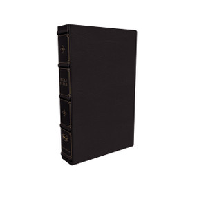 NKJV, Large Print Verse-by-Verse Reference Bible, Maclaren Series, Leathersoft, Black, Comfort Print (Holy Bible, New King James Version) by Thomas Nelson, 9780785241997