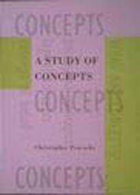 A Study of Concepts by Christopher Peacocke, 9780262660976