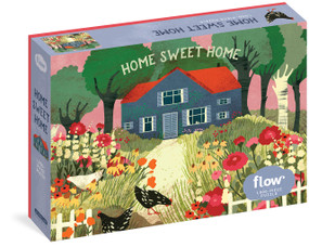 "Home Sweet Home 1,000-Piece Puzzle ((Flow) for Adults Families Picture Quote Mindfulness Game Gift Jigsaw 26 3/8"" x 18 7/8"") by Irene Smit, Astrid van der Hulst, Editors of Flow magazine, Lotte Dirks, 9781523513161"