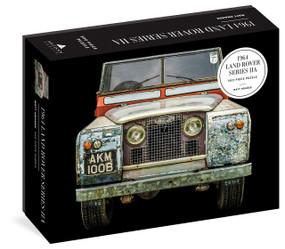 1964 Land Rover Series IIA 500-Piece Puzzle by Matt Hranek, Artisan Puzzle, 9781648290442