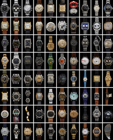 Iconic Watches 500-Piece Puzzle by Matt Hranek, Artisan Puzzle, 9781648290459