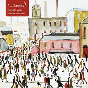 Adult Jigsaw Puzzle L.S. Lowry: Going to Work (1000-piece Jigsaw Puzzles) by Flame Tree Studio, 9781786646347