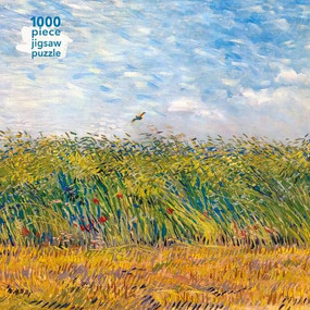 Adult Jigsaw Puzzle Vincent Van Gogh: Wheat Field with a Lark (1000-piece Jigsaw Puzzles) by Flame Tree Studio, 9781786646361
