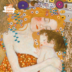 Adult Jigsaw Puzzle Gustav Klimt: Three Ages of Woman (1000-piece Jigsaw Puzzles) by Flame Tree Studio, 9781787550872