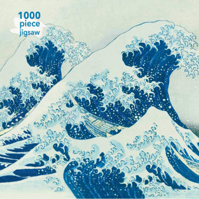 Adult Jigsaw Puzzle Hokusai: The Great Wave (1000-piece Jigsaw Puzzles) by Flame Tree Studio, 9781787556034