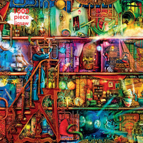 Adult Jigsaw Puzzle Aimee Stewart: Fantastic Voyage (1000-piece Jigsaw Puzzles) by Flame Tree Studio, 9781787556041