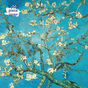 Adult Jigsaw Puzzle Vincent van Gogh: Almond Blossom (1000-piece Jigsaw Puzzles) by Flame Tree Studio, 9781787556058