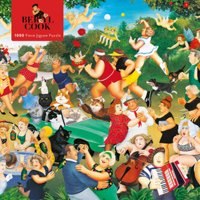 Adult Jigsaw Puzzle Beryl Cook: Good Times (1000-piece Jigsaw Puzzles) by Flame Tree Studio, 9781787556119