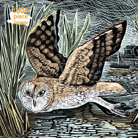 Adult Jigsaw Puzzle Angela Harding: Marsh Owl (1000-piece Jigsaw Puzzles) by Flame Tree Studio, 9781787556126