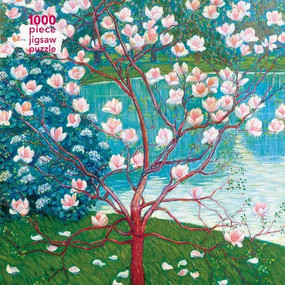 Adult Jigsaw Puzzle Wilhelm List: Magnolia Tree (1000-piece Jigsaw Puzzles) by Flame Tree Studio, 9781787556140