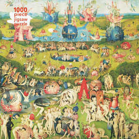 Adult Jigsaw Puzzle Hieronymus Bosch: Garden of Earthly Delights (1000-piece Jigsaw Puzzles) by Flame Tree Studio, 9781787556188