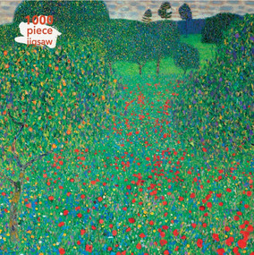 Adult Jigsaw Puzzle Gustav Klimt: Poppy Field (1000-piece Jigsaw Puzzles) by Flame Tree Studio, 9781787558823