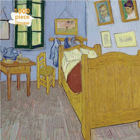 Adult Jigsaw Puzzle Vincent van Gogh: Bedroom at Arles (1000-piece Jigsaw Puzzles) by Flame Tree Studio, 9781787558847