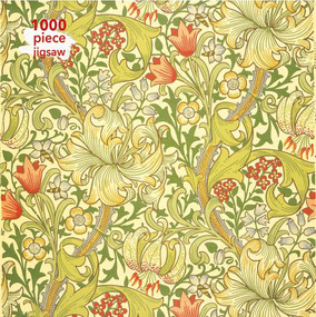 Adult Jigsaw Puzzle William Morris Gallery: Golden Lily (1000-piece Jigsaw Puzzles) by Flame Tree Studio, 9781787558960
