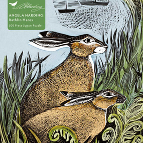 Adult Jigsaw Puzzle Angela Harding: Rathlin Hares (500 pieces) (500-piece Jigsaw Puzzles) by Flame Tree Studio, 9781839643071