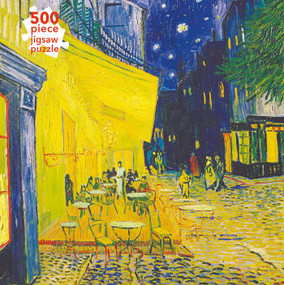 Adult Jigsaw Puzzle Vincent van Gogh: Café Terrace (500 pieces) (500-piece Jigsaw Puzzles) by Flame Tree Studio, 9781839643088