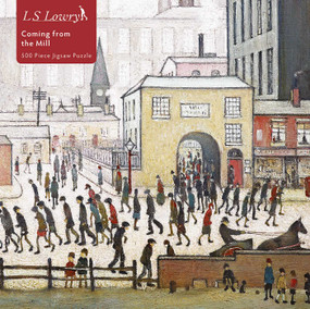 Adult Jigsaw Puzzle L.S. Lowry: Coming from the Mill (500 pieces) (500-piece Jigsaw Puzzles) by Flame Tree Studio, 9781839644313
