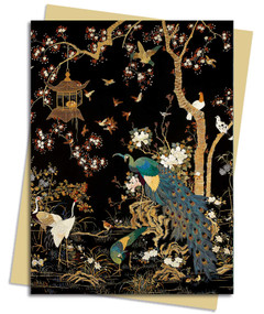 Ashmolean: A Japanese Garden Greeting Card Pack (Pack of 6) by Flame Tree Studio, 9781839644887