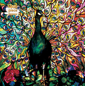 Adult Jigsaw Puzzle Louis Comfort Tiffany: Displaying Peacock (1000-piece Jigsaw Puzzles) by Flame Tree Studio, 9781787558878
