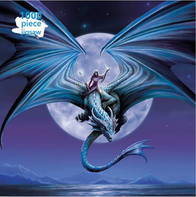 Adult Jigsaw Puzzle Anne Stokes: Moonstone (1000-piece Jigsaw Puzzles) by Flame Tree Studio, 9781787558922