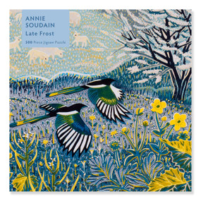 Adult Jigsaw Puzzle Annie Soudain: Late Frost (500 pieces) (500-piece Jigsaw Puzzles) by Flame Tree Studio, 9781839644320