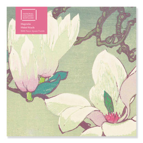 Adult Jigsaw Puzzle NGS: Mabel Royds: Magnolia (500 pieces) (500-piece Jigsaw Puzzles) by Flame Tree Studio, 9781839644368