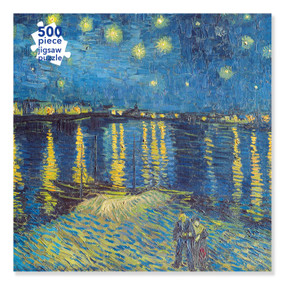 Adult Jigsaw Puzzle Van Gogh: Starry Night over the Rhone (500 pieces) (500-piece Jigsaw Puzzles) by Flame Tree Studio, 9781839644375