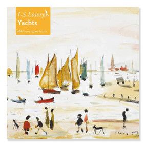 Adult Jigsaw Puzzle L.S. Lowry: Yachts (500 pieces) (500-piece Jigsaw Puzzles) by Flame Tree Studio, 9781839644382