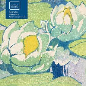 Adult Jigsaw Puzzle NGS: Mabel Royds - Water Lilies (1000-piece Jigsaw Puzzles) by Flame Tree Studio, 9781839644443