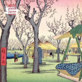 Adult Jigsaw Puzzle Utagawa Hiroshige: Plum Garden (1000-piece Jigsaw Puzzles) by Flame Tree Studio, 9781839644467