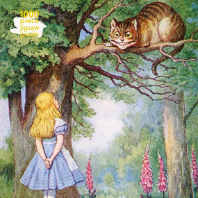 Adult Jigsaw Puzzle Alice and the Cheshire Cat (1000-piece Jigsaw Puzzles) by Flame Tree Studio, 9781839644474