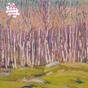 Adult Jigsaw Puzzle Tom Thomson: Silver Birches (500 pieces) (500-piece Jigsaw Puzzles) by Flame Tree Studio, 9781839644597