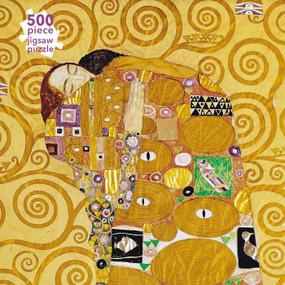 Adult Jigsaw Puzzle Gustav Klimt: Fulfilment (500 pieces) (500-piece Jigsaw Puzzles) - 9781839644610 by Flame Tree Studio, 9781839644610