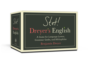 STET! Dreyer's English (A Game for Language Lovers, Grammar Geeks, and Bibliophiles) (Miniature Edition) by Benjamin Dreyer, 9780593137857