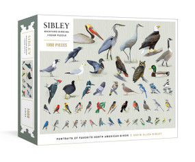 Sibley Backyard Birding Puzzle (1000-Piece Jigsaw Puzzle with Portraits of Favorite North American Birds : Jigsaw Puzzles for Adults) by David Allen Sibley, 9780593233528