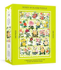 Roses in Bloom Puzzle (A 1000-Piece Jigsaw Puzzle Featuring Rare Art from the New York Botanical Garden : Jigsaw Puzzles for Adults) by The New York Botanical Garden, 9781524759124