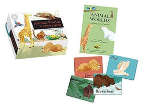 Animal Worlds (a memory game) (Miniature Edition) by Libby Walden, Stephanie Fizer Coleman, 9781944530389