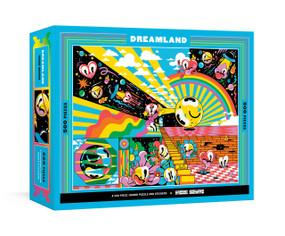 Dreamland (A 500-Piece Jigsaw Puzzle & Stickers : Jigsaw Puzzles for Adults) by Hattie Stewart, 9780525574651