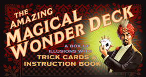 The Amazing Magical Wonder Deck (A Box of Illusions with Trick Cards & Instruction Book) (Miniature Edition) by Mr. Mysterio, 9781594740367