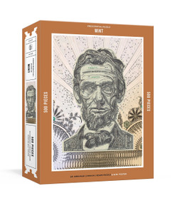 Presidential Puzzlemint 500-Piece Puzzle (An Abraham Lincoln Jigsaw Puzzle & Mini-Poster : Jigsaw Puzzles for Adults) by Mark Wagner, 9781524761226