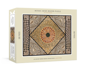 Mosaic Mind Bender 500-Piece Puzzle (An Ancient Roman Mosaic Jigsaw Puzzle & Mini-Poster : Jigsaw Puzzles for Adults) by The Getty, 9781524763657