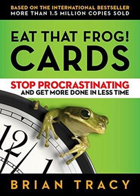 Eat That Frog! Cards (Stop Procrastinating and Get More Done in Less Time) (Miniature Edition) by Brian Tracy, 9781523084692