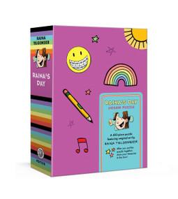 Raina's Day Jigsaw Puzzle (A 450-Piece Puzzle Featuring Original Art by Raina Telgemeier: Jigsaw Puzzles for Kids) by Raina Telgemeier, 9780593136362