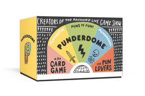 Punderdome (A Card Game for Pun Lovers) (Miniature Edition) by Jo Firestone, Fred Firestone, 9781101905654