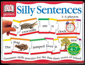 DK Toys & Games: Silly Sentences (Grammar Skills Practice for the First 3 Years of School) by DK, 9780789454720