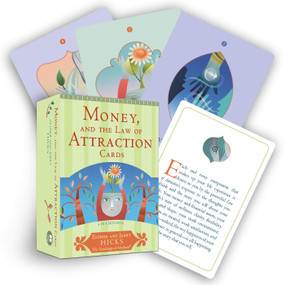 Money, and the Law of Attraction Cards (A 60-Card Deck, plus Dear Friends card) (Miniature Edition) by Esther Hicks, Jerry Hicks, 9781401923396