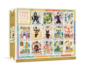 Women in Art Puzzle (Fearless Creatives Who Inspired the World 500-Piece Jigsaw Puzzle and Poster: Jigsaw Puzzles for Adults and Jigsaw Puzzles for Kids) by Rachel Ignotofsky, 9780593233016