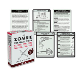 The Zombie Survival Guide Deck (Complete Protection from the Living Dead) (Miniature Edition) by Max Brooks, 9780307406453